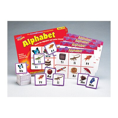 Trend Enterprises Match Me Game Alphabet Ages 3 & up