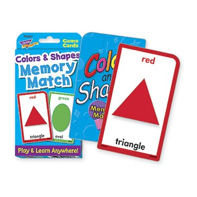 Trend Enterprises Challenge Cards Colors And Shape