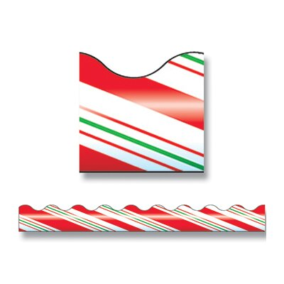 Trend Enterprises Trimmer Candy Cane Stripes