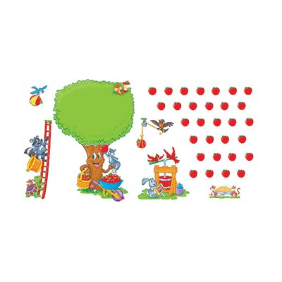 Trend Enterprises Bb Set Apple Tree