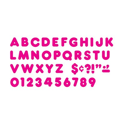 Ready Letters 4 In Casual Deep Pink