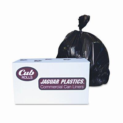 Jaguar Plastics® Industrial Drum Liners, 2.7Mil, 38 X 63, 1 Roll of 50/Carton