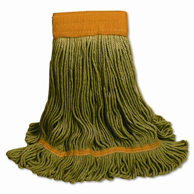 Unisan Ecomop Looped-End Mop Head, Recycled Fibers