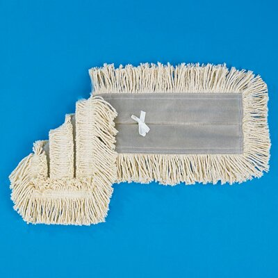 "Unisan 48"" x 5"" Dust Mop Head in White"
