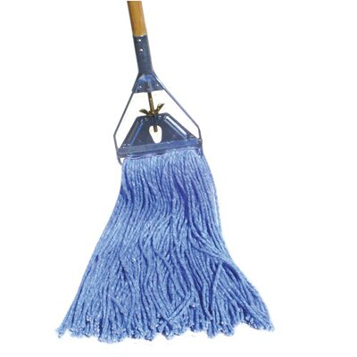 Unisan Cut-End Mop Head in Blue
