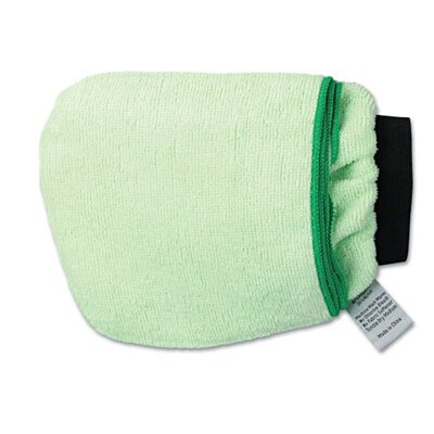 Unisan Grip-n-Flip 10-Sided Microfiber Mitt in Green