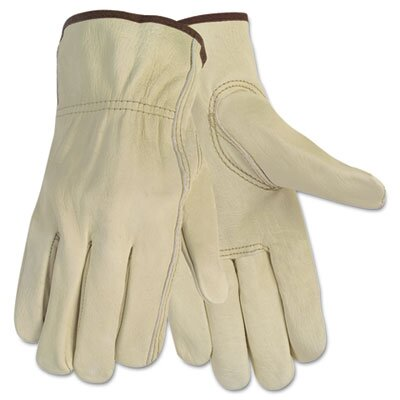United Facility Supply Memphis Economy Leather Driver Gloves