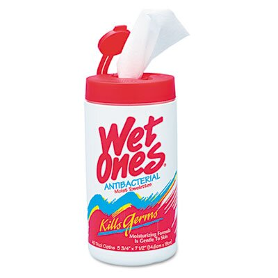 United Facility Supply Wet Ones Antibacterial Moist Towelette