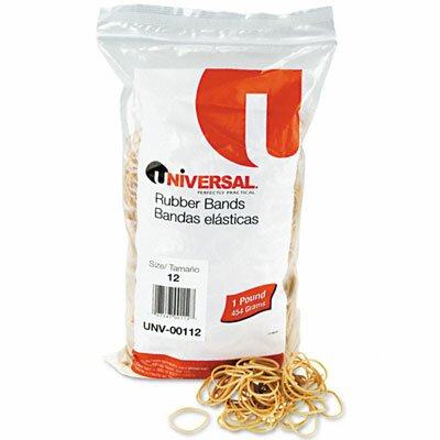 Universal® Rubber Bands, 2500 Bands/1 lb Pack
