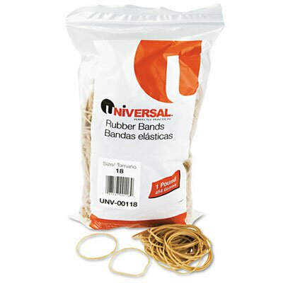 Universal® Rubber Bands, 1600 Bands/1 lb Pack