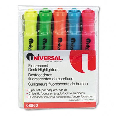 Universal® Desk Highlighter (Set of 5)