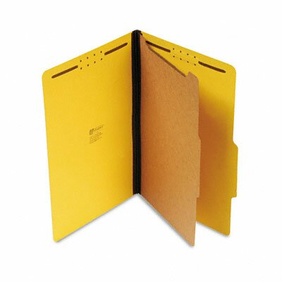 Universal® Pressboard Classification Folder, 10/Box