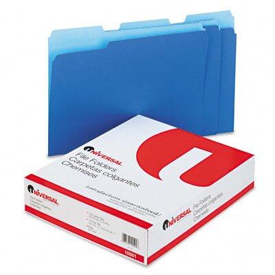 Universal® Colored File Folders, 100/Box