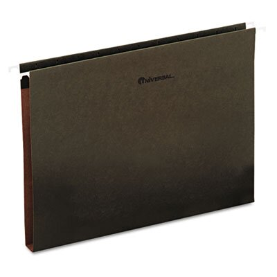 Universal® One Inch Box Bottom Hanging Folder, 25/Box