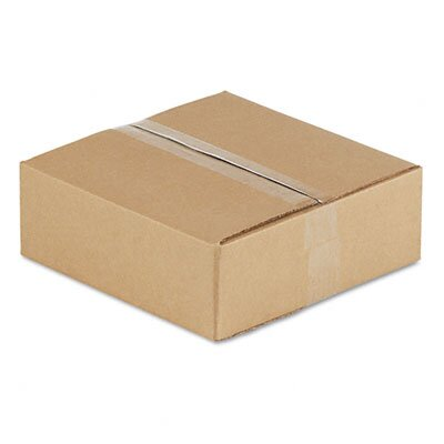 "Universal® Corrugated Kraft Fixed-Depth Shipping Carton, 25/Bundle (20.5"" H x 14.5"" W x 7.5"" D)"