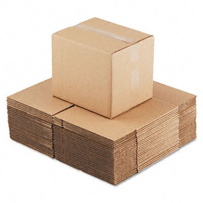 "Universal® Corrugated Kraft Fixed-Depth Shipping Carton, 25/Bundle (21"" H x 20"" W x 8"" D)"