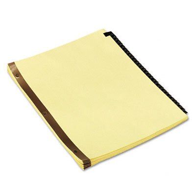 Universal® Leather-Look Mylar Tab Dividers (Set of 31)