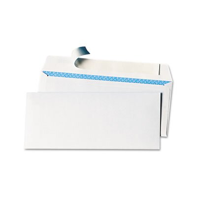 Universal® Pull & Seal Business Envelope, #10, 100/Box