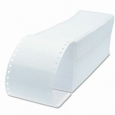 Universal® 1 Across Dot Matrix Printer Labels, 5000/Box