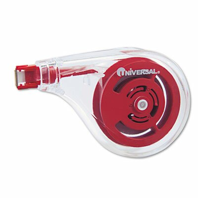 Universal® Sideways Application Correction Tape, 6/Pack