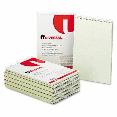 Universal® Steno Book, 70 Sheets/Pad
