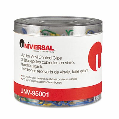 Universal® Paper Clips, 500/Pack