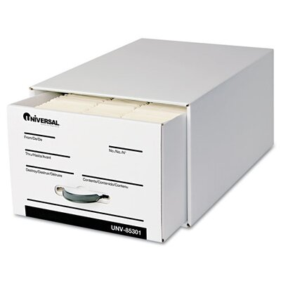 Universal® Heavy-Duty Storage Box Drawer, 6/Carton