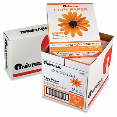 Universal® Copy Paper Convenience Carton, 2500/Carton