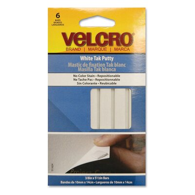 VELCRO USA Inc Sticky Fix Tak, 6 Bars/Pack