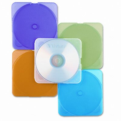 Verbatim Corporation Trimpak Cd/Dvd Case, 10/Pack