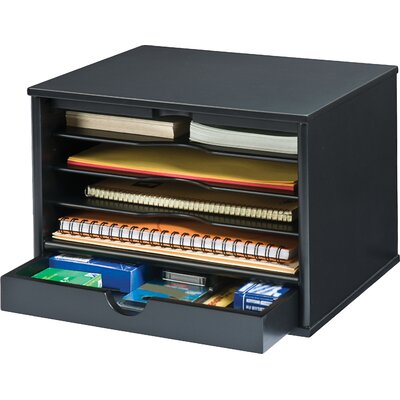 Victor Technology Midnight Desktop Organizer