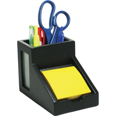 Victor Technology Midnight Pencil Cup/Note Holder