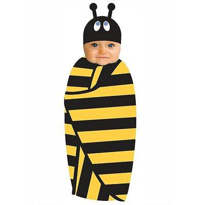 Sozo Beehave Swaddle and Cap Set