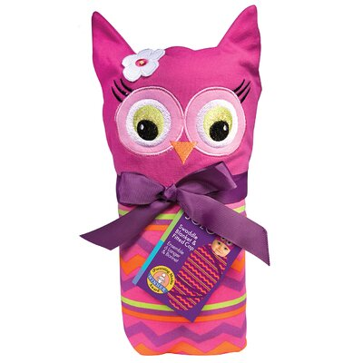 Sozo Owl Swaddle Blanket and Cap Set