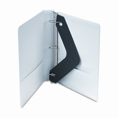 "Wilson Jones Basic D-Ring Vinyl View Binder, 1"" Capacity"