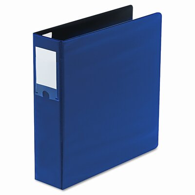 Wilson Jones Locking No-Gap D-Ring Vinyl Binder, 2in Capacity, Blue