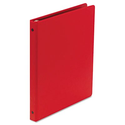 "Wilson Jones Basic Vinyl Round Ring Binder, 1/2"" Capacity"