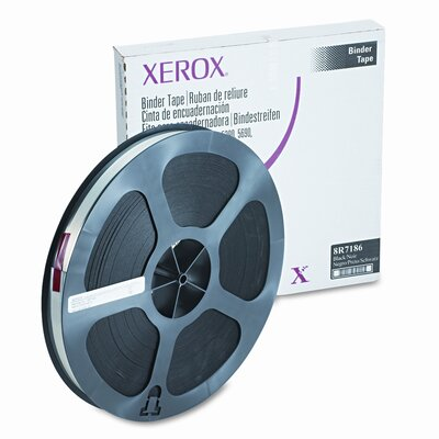 Xerox® 8R7186 Binding Tape, Black