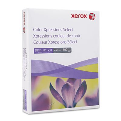 Xerox® Digital Color Xpressions Laser Paper, 98 Brightness, 24lb, Letter, 500 Sheets