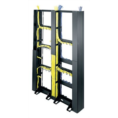 Middle Atlantic CK Series 45U Space Relay Rack End Cable Organizer