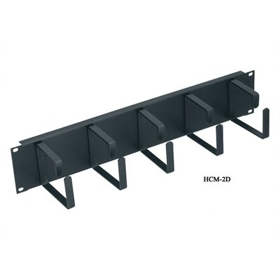 """Middle Atlantic 19"""" W """"D-Ring"""" Style Horizontal Cable Managers"""