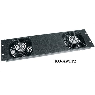 Middle Atlantic WRK Series Fan Kit with 2 Fans, 190 CFM