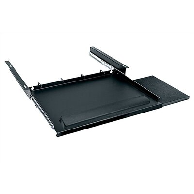 Middle Atlantic Computer Keyboard Tray with Pull-Out Mouse Tray