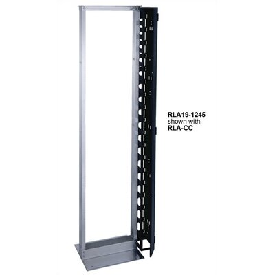 "Middle Atlantic 45 Rackspace (83 3/4"" High) Aluminum Relay Rack"