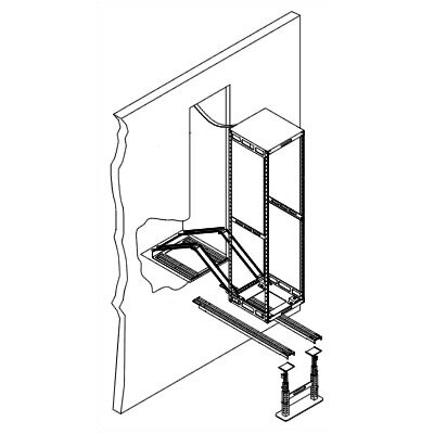 "Middle Atlantic 16"" D Slide-Out Equipment Rack"