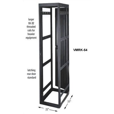 "Middle Atlantic VMRK-54 19"" Video Rack Enclosure"