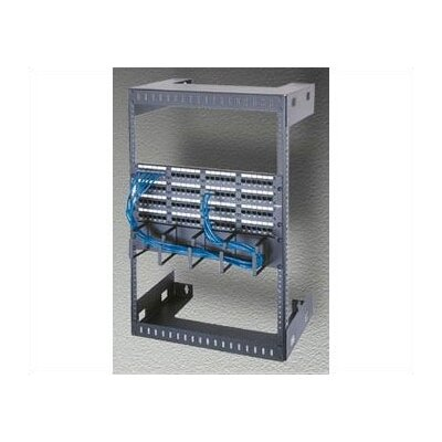 "Middle Atlantic Wall Mount Open Frame Rack, 18"" D"