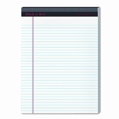 Tops Business Forms Docket Diamond Legal Ruled Pads, 8-1/2 x 11-3/4, WE, Two 50-Sheet Pads/pk