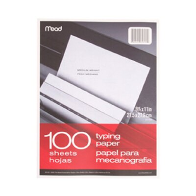 Mead Paper Typing 8 1/2 X 11 100 ct