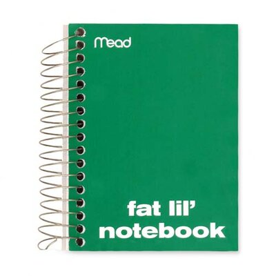 "Mead Notebook, College Ruled, 200 Sheets, 5-1/2""x4"", Assorted"